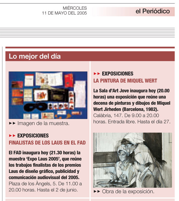 El Periodico 11 Mayo 2005 - Wert