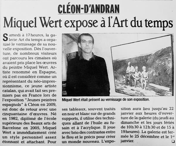 Le Dauphine Libere - 01.12.11
