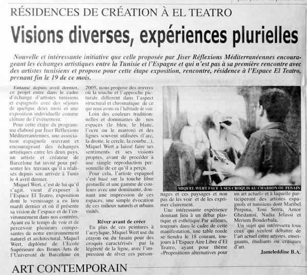 Tunis Hebdo 7-13 Juin 2010 Jameleddine B