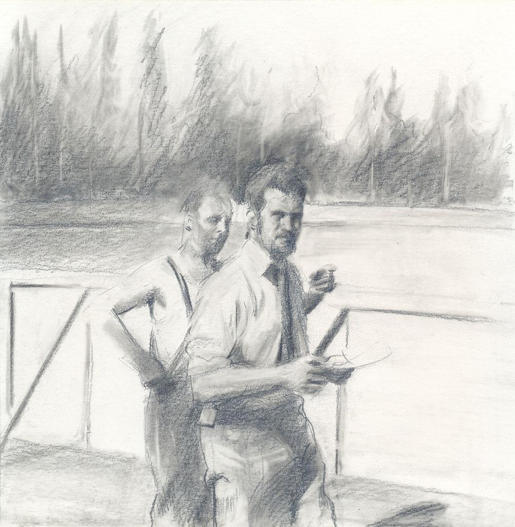 2008 - Two men - Miquel Wert